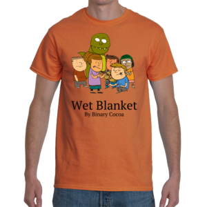 Wet Blanket Awkward Marriage Proposal T-Shirt
