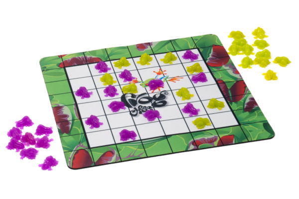 Frog Chess can be played with 2 players.